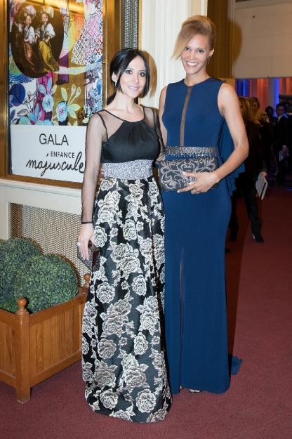 Fabienne Carat & Amanda Scott - Gala Enfance Majuscule