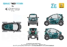 Renault Twizy Python by Christophe Guillarme