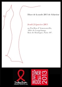Diner de la Mode 2013 de Sidaction
